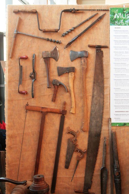 Handwerkzeuge des Wagners