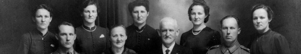 Familie Heinrich Krieg, Wagnermeister aus Rotenfels, 1942
